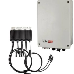 SolarEdge 1PH, 1.5kW met compacte technologie, basic communicatie en een M2640 Power Optimizer